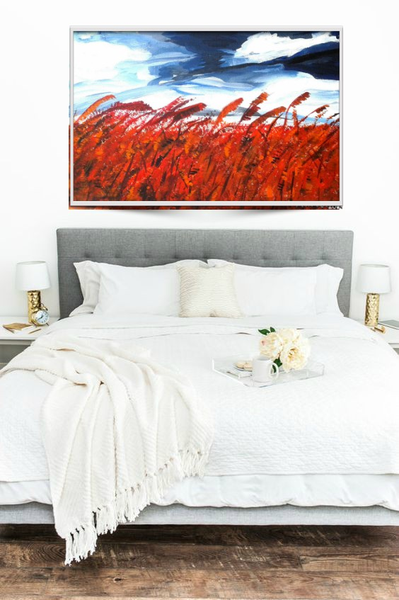 oil painting for master bedroom original