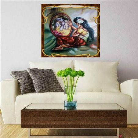 radha-krishana painting for living room