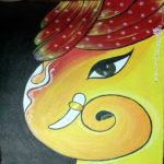 ganesha art painting