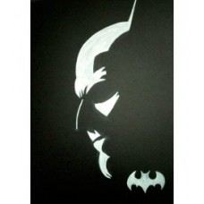 The batman in the dark