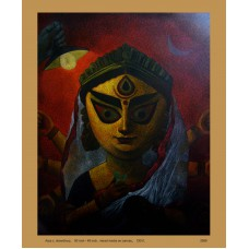 Maa Durga Art Painting