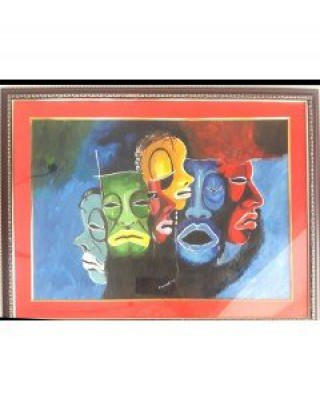 Masks By Chandrabindu Biswas