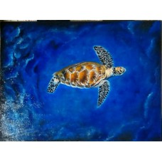 Seascape Wildlife Painting