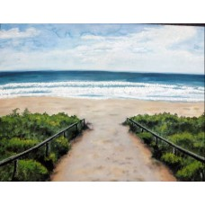 Pathway to the Sea Painting