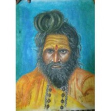 Sadhu Portrait  By Debjit Ghosh
