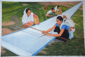 Cloth Knitting By Bipul Dhar