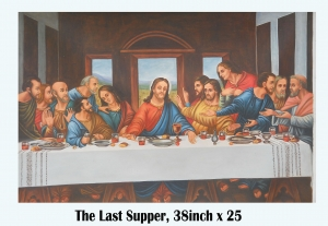 The Last Supper  COPY PAINTED BY BIPUL DHAR